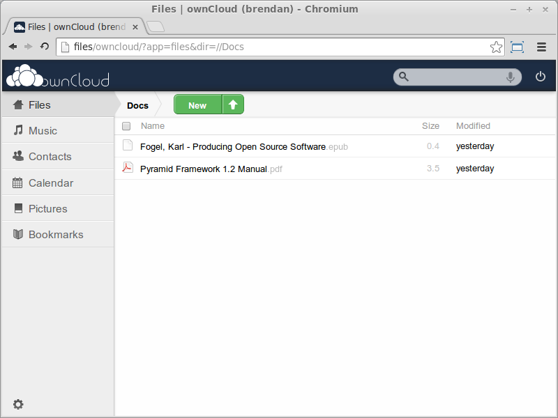 Building a Home File Server with ownCloud 4 5 and Subsonic [Glump net]